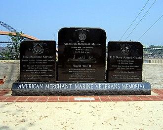 Ashtabula, Ohio - Image: American Merchant Marine Veterans Memorial