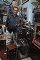 Amrit Gangar with 35mm Film Portable Projector - Kolkata 2017-02-23 0481.JPG