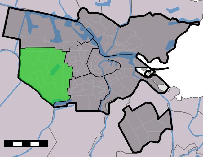 Amsterdam - Stadsdeel Nieuw-West