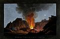 An eruption of Vesuvius at night, 1829, showing the inside o Wellcome V0025250.jpg