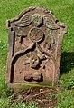 An old headstone in Earlston Parish Churchyard - geograph.org.uk - 865206.jpg