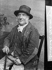 An old man, Llanrhaeadr-ym-Mochnant
