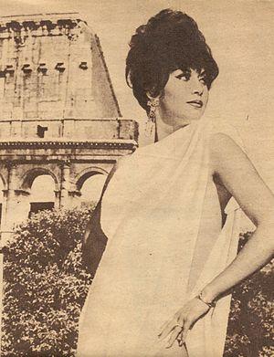 Ana Bertha Lepe - Lepe in Rome, Italy, 1966