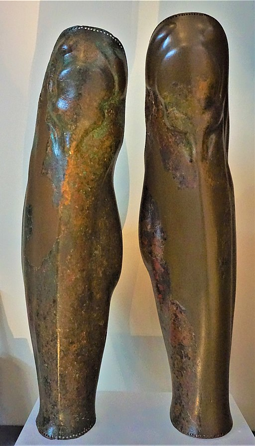 Ancient Greek Greaves - Archaeological Museum of Thessaloniki by Joy of Museums