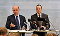Anders Borg and Pierre Moscovici at a press conference March 2013 002.jpg