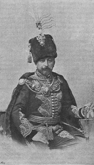 Magyar AC - Géza Andrássy, president of the club