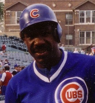 Andre Dawson - Dawson with the Chicago Cubs