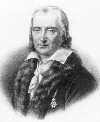 André Grétry - Grétry wearing his medal from the Légion d'honneur