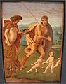 Andrea previtali e giovanni bellini, allegorie, 1490 ca. 05 perseveranza.JPG