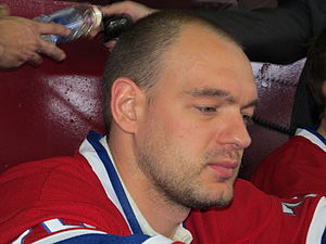 Andrei Markov (ice hockey) - Markov with the Montreal Canadiens in 2010