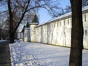 Andronikov Monastery - The fortified monastery used to protect approaches to Moscow from the south