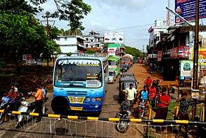 Angadipuram - Image: Angadipuram Junction Perithelmanna