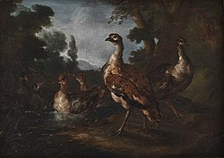 Angelo Maria Crivelli: Landscape with Birds