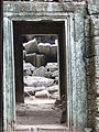 Angkor - Ta Prohm - 016 Doorways (8581946902).jpg