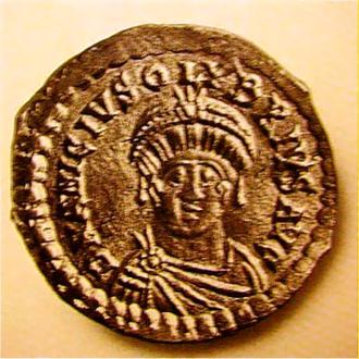 Olybrius - Coin of Emperor Olybrius