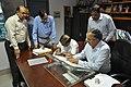 Anil Shrikrishna Manekar Taking Over Charge Of Director General From Ganga Singh Rautela - NCSM - Kolkata 2016-02-29 1798.JPG