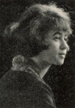Anna Johnson Julian - Anna Roselle Johnson in 1923