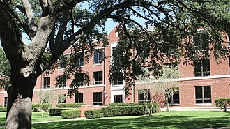 National Register of Historic Places listings in Waller County, Texas - Image: Annie Laurie Evans Hall