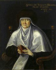 Portrait of Agnieszka Firlejowa née Tęczyńska.