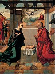 The Birth of Christ and the Annunciation to the Shepherds