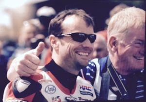 Bruce Anstey - Anstey pictured at the TT Grandstand