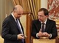 Anton Siluanov and Vladimir Medinsky, June 2012.jpeg