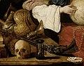 Antonio de Pereda - Allegory of Vanity - rmadura, mosquete, reloj, craneos y naipes.jpg