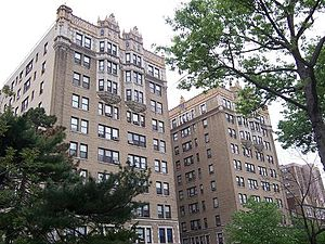 "Pre-war architecture - A ""pre-war"" apartment building in East Orange, New Jersey"