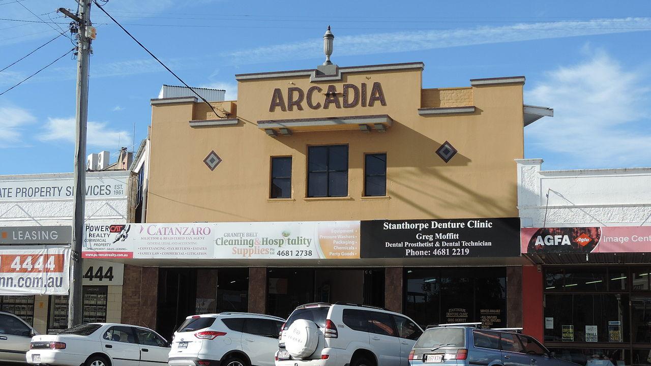 File Arcadia Building Maryland Street Stanthorpe 2015