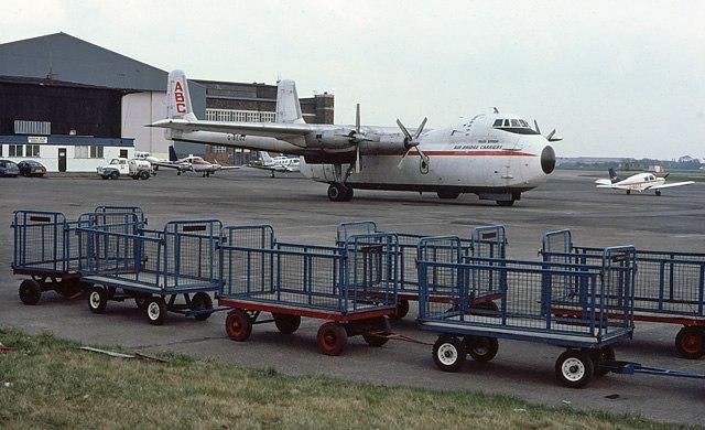 Argosy at Speke Airport