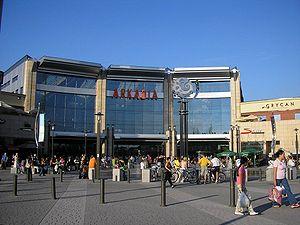 Arkadia (shopping mall) - Main entrance