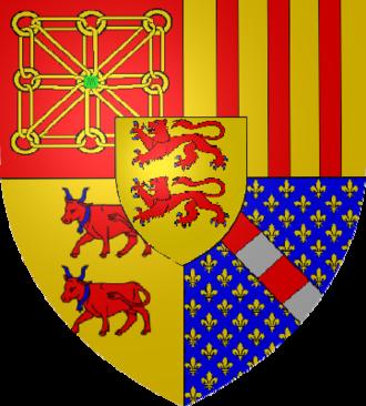 Viscounts of Béarn - Image: Armoiries Navarre Foix