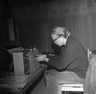 Arne Nordheim - Nordheim in 1968