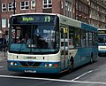 Arriva bus 1402 VDL Bus SB200 Wrightbus Commander NK53 HHY in Newcastle 9 May 2009.jpg