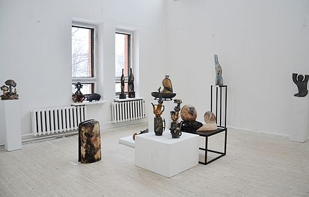 Art Zhyzhal 2014 exhibition Center of Contemporary Art in Minsk.JPG
