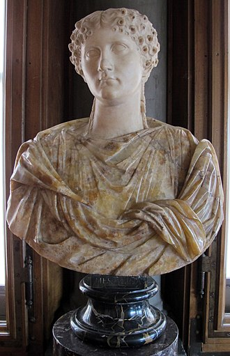 Messalina - A bust believed to be of Messalina, in the Uffizi Gallery in Florence