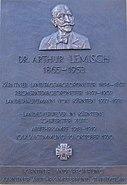 Arthur Lemisch Gedenktafel