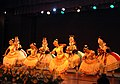 Artists performing regional traditional dance at the inaugural ceremony of the 40th International Film Festival (IFFI-2009), at Kala Academy, in Panaji, Goa on November 23, 2009 (2).jpg