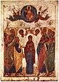 Ascension from Vasilyevskiy chin (15th c., GTG) 2.jpg