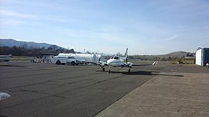 Ashland Municipal Airport - Ashland Municipal Airport runway