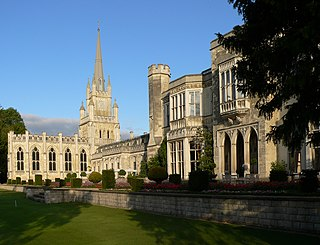 Ashridge country estate and stately home in Hertfordshire, England