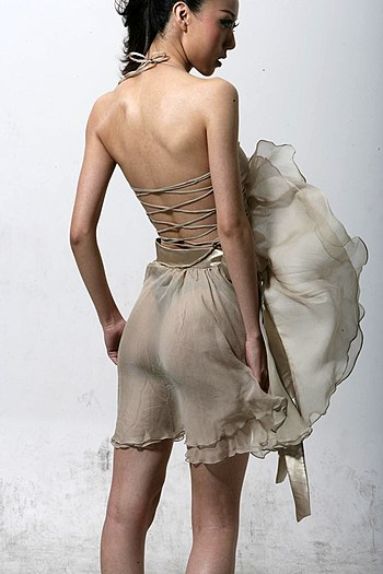 I like the back of this skirt! I really think ...