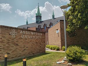 Assumption University (Windsor, Ontario) - Assumption University