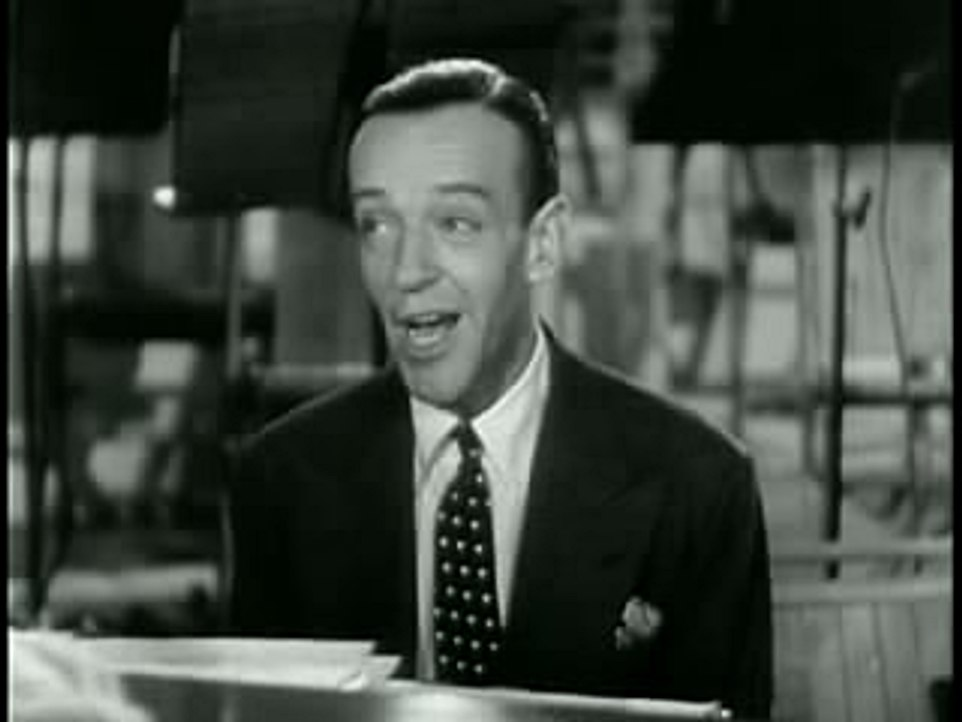 Astaire singing in Second Chorus