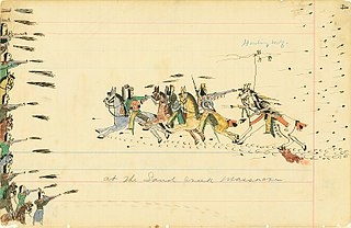 massacre of a village of Cheyenne and Arapaho people in the American Indian Wars
