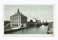 At the Soo - Leaving the Locks, Sault Ste. Marie, Mich (NYPL b12647398-62049).tiff