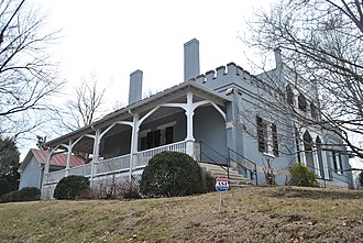 National Register of Historic Places listings in Maury County, Tennessee - Image: Athenaeum Columbia