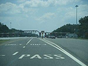 Atlantic City Expressway - Egg Harbor toll plaza
