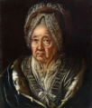 Attributed to Kisling - So-called portrait of Caroline Louise, Margravine of Baden.png