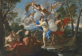 Attributed to Luigi Garzi - Alpheus and Arethusa